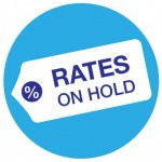 Rates on hold - August